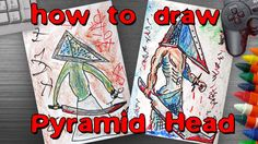 How to draw a Pyramid Head from Resident Evil