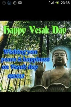 Happy Vesak day...