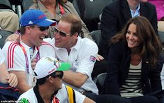 The Royals returned to cheer on Zara Phillips in the Olympic.