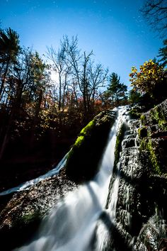Moonshine over Roaring Run, Virginia  My awesome Virginia.... Virginia is for lovers <3