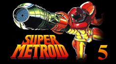Let's Play Super Metroid #5: The Wrecked Ship!