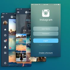 redesign application instagram 1