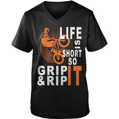 BMX LIFE IS SHORT SO GRIP RIP IT, Order HERE ==> https://www.sunfrog.com/Sports/124519287-704294684.html?58114, Please tag & share with your friends who would love it , #christmasgifts #xmasgifts #renegadelife