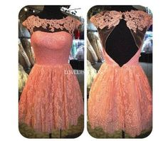 Bridesmaid dressCocktail dressParty dressPink by loveetsydress, $136.00