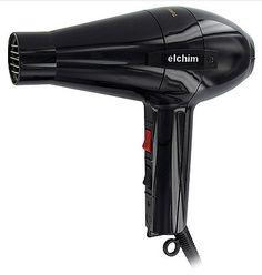 Elchim 2001 Professional Salon Italian Hair Dryer HP High Pressure Blow Black #Elchim