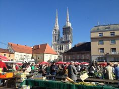 To put it in one sentence: Zagreb turned out to be way better than I expected. Probably because I… Read Zagreb Croatia, Times Square, Street View, Live, Travel, Viajes, Destinations, Traveling, Trips