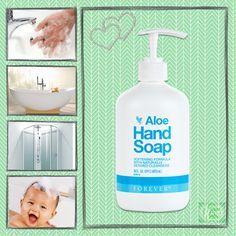 Notre Aloé Hand Soap Forever. www.laloe-tu-verras.fr