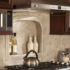 Debris Series Recycled Tile Kitchen Backsplash