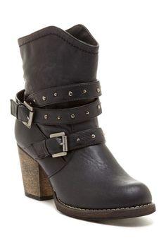 Bucco Viktorija Buckled Ankle Boot