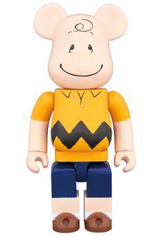 a33a8418 MEDICOM TOY - BE@RBRICK CHARLIE BROWN 400% Charlie Brown Cartoon, Charlie  Brown