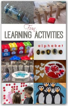 Fun literacy and numeracy learning activities for toddlers