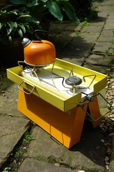 very cool vintage camp stove