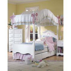Carolina Furniture Works, Inc. Carolina Cottage Princess Canopy Bed