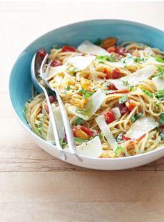 One Pot Pasta Tomate Basilikum