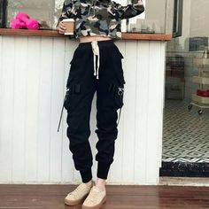The Best Street Style Fashion Ideas Of The Year - Page 20 of 46 - bestcombin Teen Fashion Outfits, Edgy Outfits, Mode Outfits, Korean Outfits, Grunge Outfits, Dance Outfits, Grunge Fashion, Girl Outfits, Ulzzang Fashion