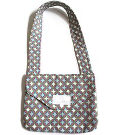 Limited Edition Purple Geometric Purse - Toddler purse - Purse - Little Girl Purse - Kids Purse - Mini Ipad Carrying Case