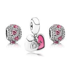 Pandora Me & You Forever Charm Set | John Greed Jewellery