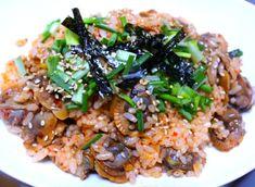 맛있다고 난리 난 꼬막 비빔밥 맛있게 만드는 방법 Korean Food, Korean Recipes, Fried Rice, Risotto, Fries, Meat, Chicken, Ethnic Recipes, Korean Cuisine