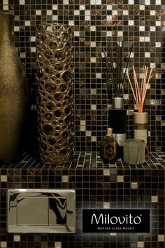 A Comprehensive Overview on Home Decoration - Modern Mosaic Glass, Mosaic Tiles, Toilet Wall, Wands, Wine Rack, White Gold, Bronze, Bathroom, Modern