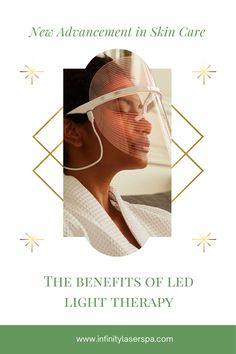 LED Light Therapy may seem bizarre, but it has many benefits. It can help treat acne, reduce inflammation, and contains anti aging properties. It also works on all skin types and skin colors! There are two different types of light used for this treatment: red light and blue light. Red light focuses on the anti aging properties and blue light focuses on acne and inflammation.