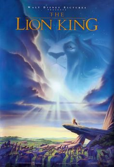 The Lion King (Academy Award for Best Original Score and Best Original Song) - American animated musical adventure, 1994