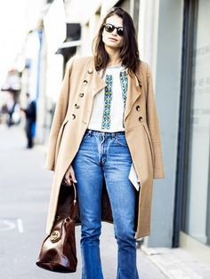 Unexpected Outfit Ideas to Pair With a Camel Coat