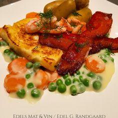 Edels Mat & Vin: Stekt hjemmelaget fiskepudding med gulrotstuing og...