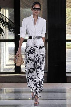 Elie Tahari Spring 2009 Ready-to-Wear Fashion Show - Tonia Molyavko
