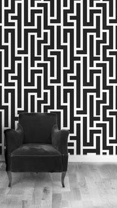 Hepburn-Black Wallpaper