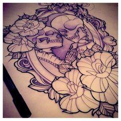'Til Death Tattoo Idea
