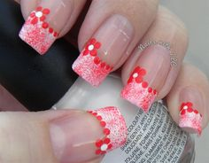 Simple Valentine Flower Design by NailswithTLC from Nail Art Gallery
