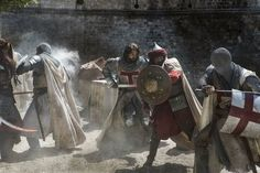 Trailers, clip, images and posters for the historical drama series KNIGHTFALL. Marvel Vs, Marvel Dc Comics, Crusader Knight, Christian Warrior, Templer, Holy Cross, Medieval Times, Knights Templar, Historical Pictures