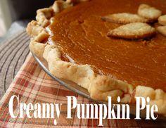 Jamie Cooks It Up!: Creamy Pumpkin Pie and Classic Pumpkin Pie