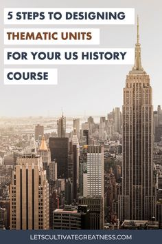 Start designing your first thematic US History unit with this how-to guide from a high school history teacher who's doing it. Packed with actionable advice and tips for creating your first thematic unit! Teaching Us History, History Education, History Teachers, History Class, Social Studies Activities, History Activities, Teaching Social Studies, Teaching Writing, Thematic Analysis