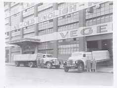 Kraft Walker Cheese Company at  Riverside Ave,South Melbourne in Victoria in 1947. •State Library of Victoria•