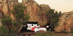 Kagga Kamma with open air accomodation options!
