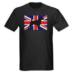 beagle silhouette flag UK T-Shirt > Beagle > Paw Prints #dog #pet #Beagle #EnglishBeagle #Great Britain