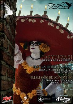 Nov 15 #1 Magazine Cover 'ZuRea Fotografía' Monthly Magazine, Cover, Painting, Art, Intelligent Women, Book Of Life, La Catrina, Fotografia, Art Background