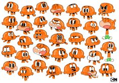 There is still more faces of Darwin than that! Holey poop, that is a lot of faces.