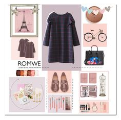 """""""CONTEST- WIN DRESS http://www.polyvore.com/romwe_grid_ruffle_detail_shift/contest.show?id=636873"""" by luanna98 ❤ liked on Polyvore featuring Salvatore Ferragamo, Yves Saint Laurent, Bynd Artisan, StudioSarah, Sugar Paper, Vintage Print Gallery, Godinger, Umbra, Parlane and Ted Baker"""