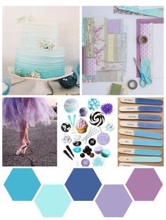 color me : indigo + lavender