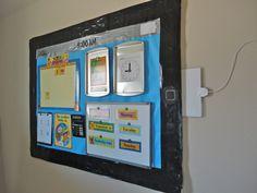 iPad Bulletin Board Idea