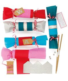Step 4 tie off top end diy christmas crackers by meri meri meri meri christmas cracker kit alexandalexa solutioingenieria Image collections