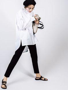 Fashion Pants, Love Fashion, Korean Fashion, Fashion Outfits, Fashion Trends, Japan Fashion, Fashion Images, Casual Summer Outfits, Office Fashion