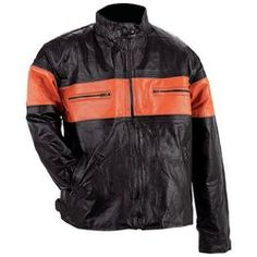 Diamond Plate™ Men's Hand-Sewn Pebble Grain Genuine Leather Jacket $89.99