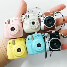 Fujifilm Instax Mini 8 Mini 25 fotocamera portachiavi piccola