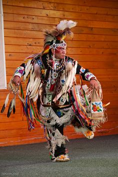The grass dance movements reflect warrior movements such as stalking the game or enemy and fighting the enemy.