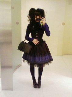 Harajuku Fashion, Lolita Fashion, Gothic Fashion, Victorian Fashion, Japanese Fashion, Asian Fashion, Japanese Style, Tomboyish Outfits, Pretty Outfits