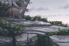 Lycaenops // Simon Stålenhag for Swedish Museum Of Natural History Fossils & Evolution exhibition