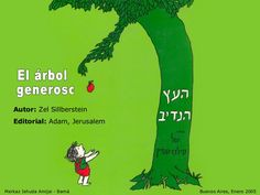 The Giving Tree - slideshow in Spanish Middle School Spanish, Elementary Spanish, Ap Spanish, Spanish Lessons, Spanish Courses, Spanish Grammar, Spanish Language, Spanish Teaching Resources, Spanish Activities